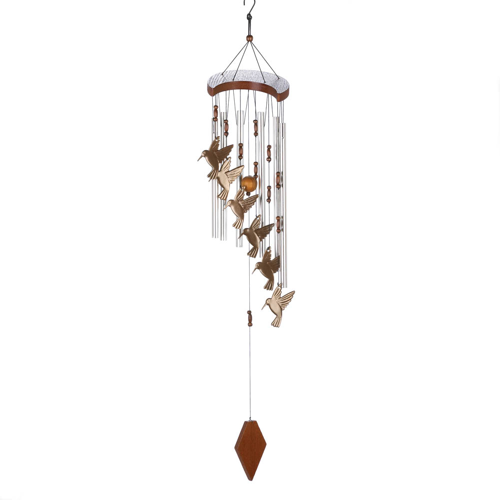 HUMMINGBIRD FLUTTER WIND CHIMES 10015860