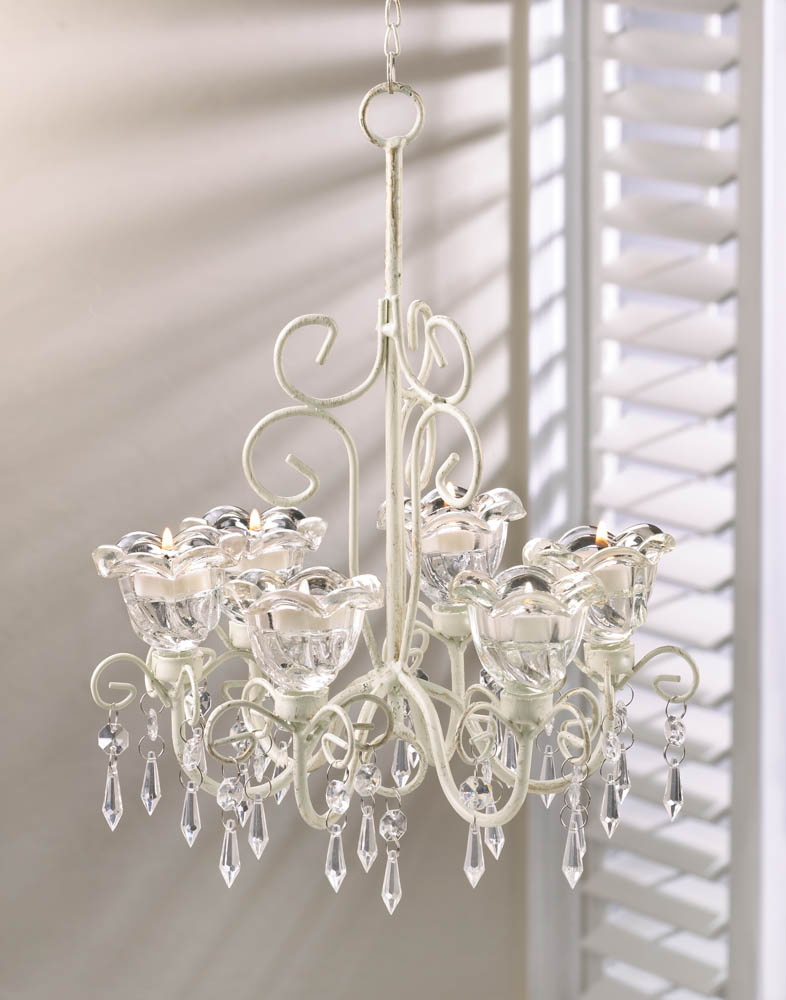 CRYSTAL BLOOMS CANDLE CHANDELIER 10016076