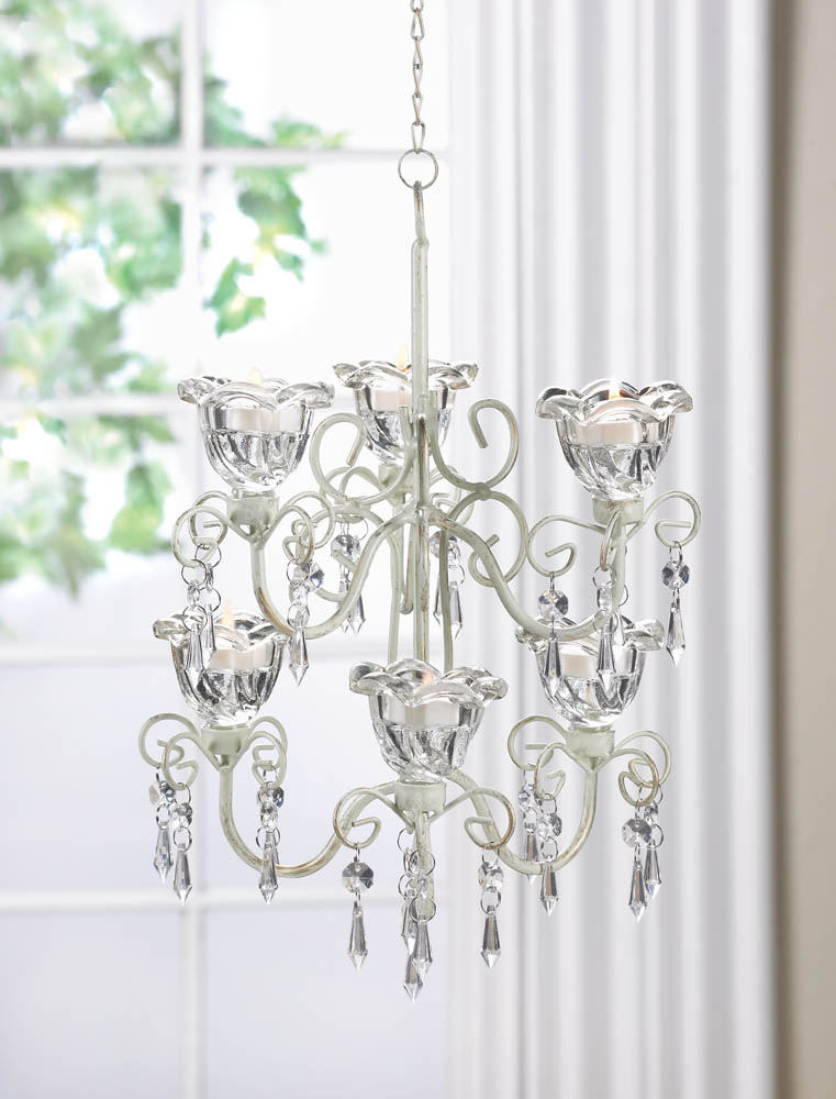 CRYSTAL BLOOMS DOUBLE CHANDELIER 10016077