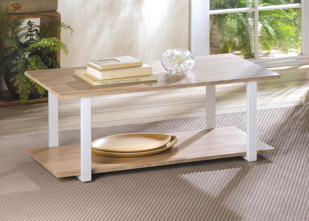 CONTEMPORARY COTTAGE COFFEE TABLE 10016090