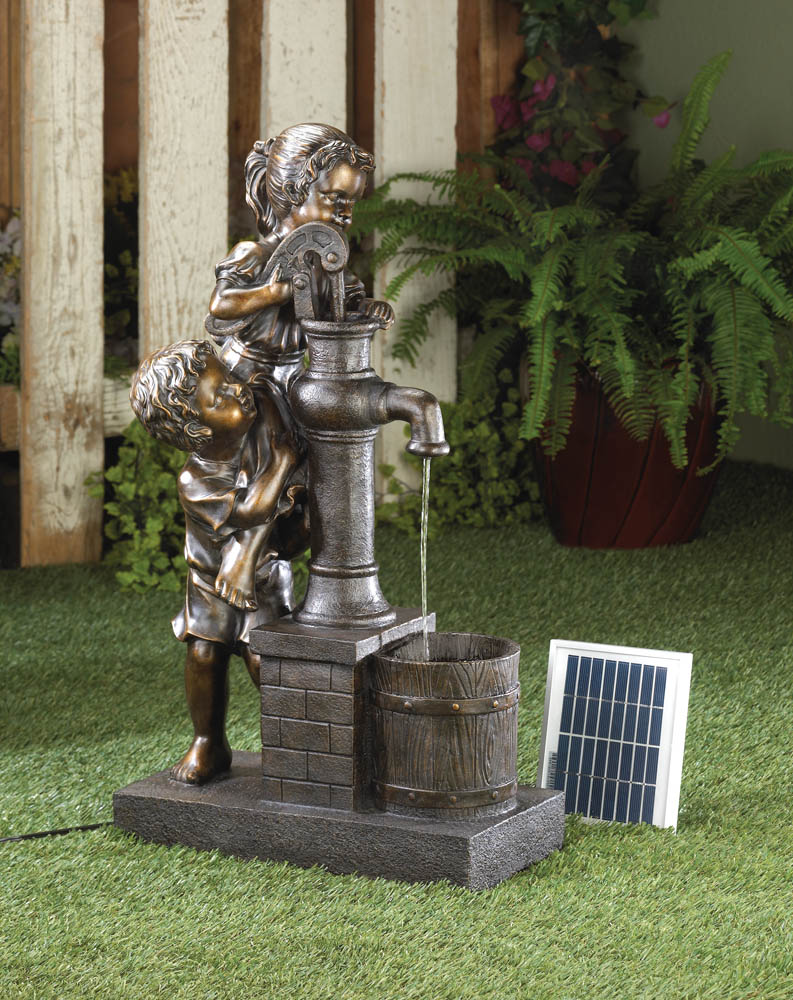 TEAMWORK WATER PUMP SOLAR FOUNTAIN 10016357