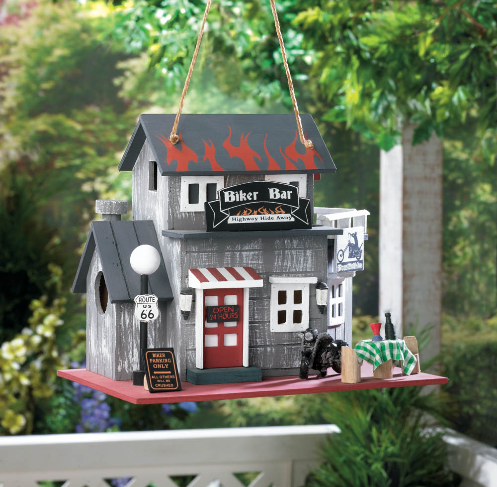 BIKER BAR BIRDHOUSE 10016849