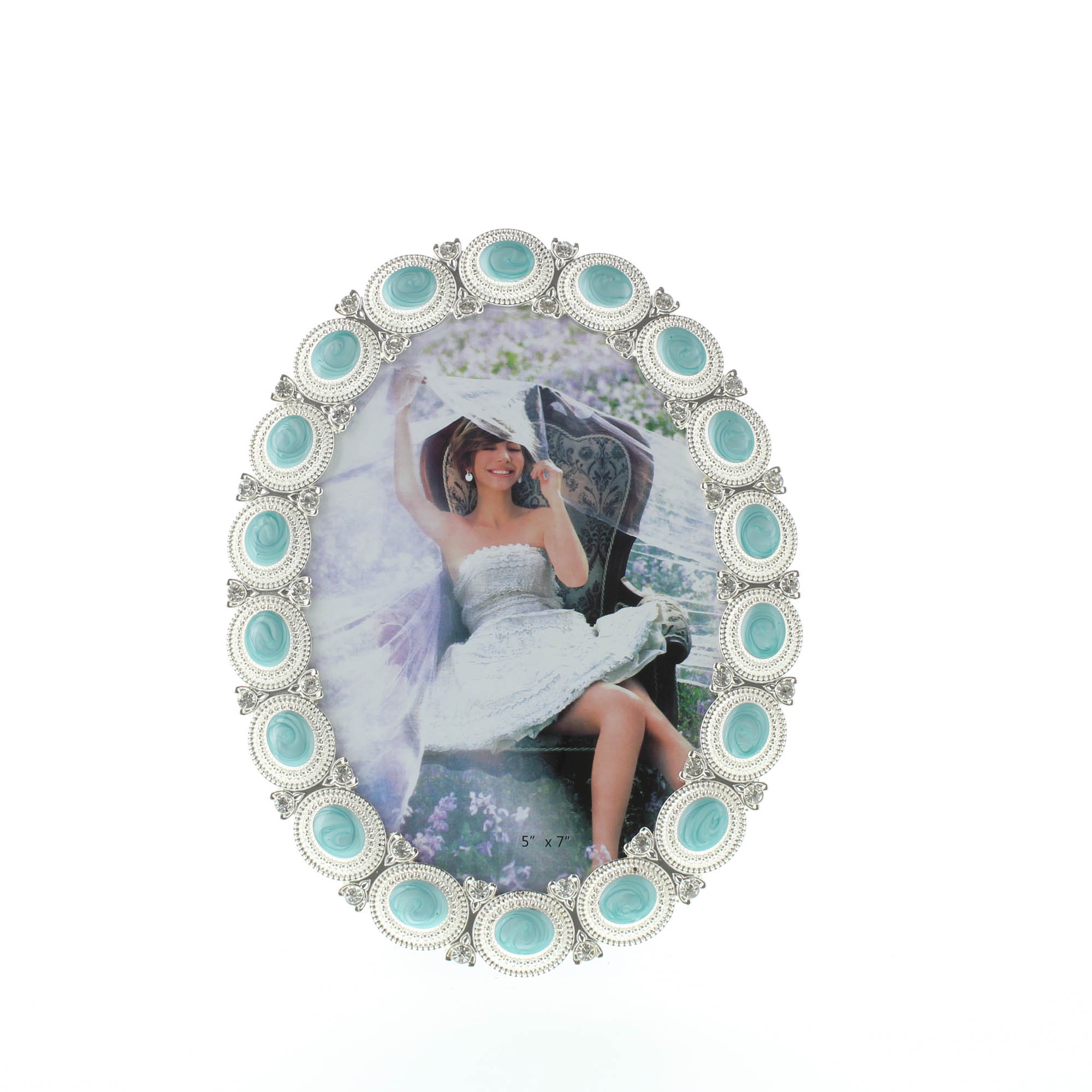 SEA CABOCHON PHOTO FRAME 5 X 7 10016936