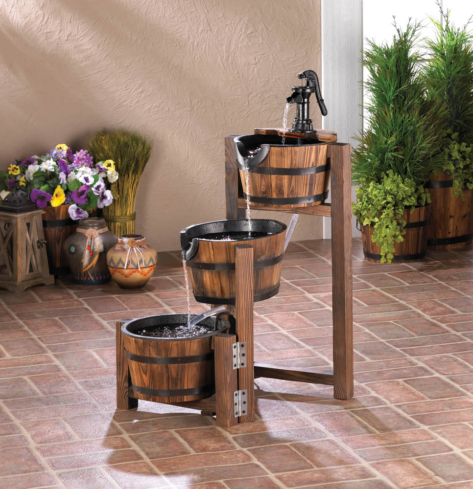 APPLE BARREL CASCADING FOUNTAIN 10017256