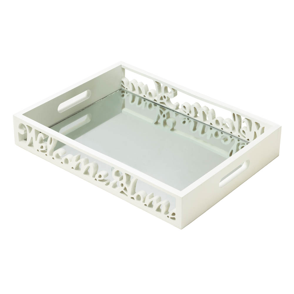 WELCOME HOME MIRROR TRAY 10017440
