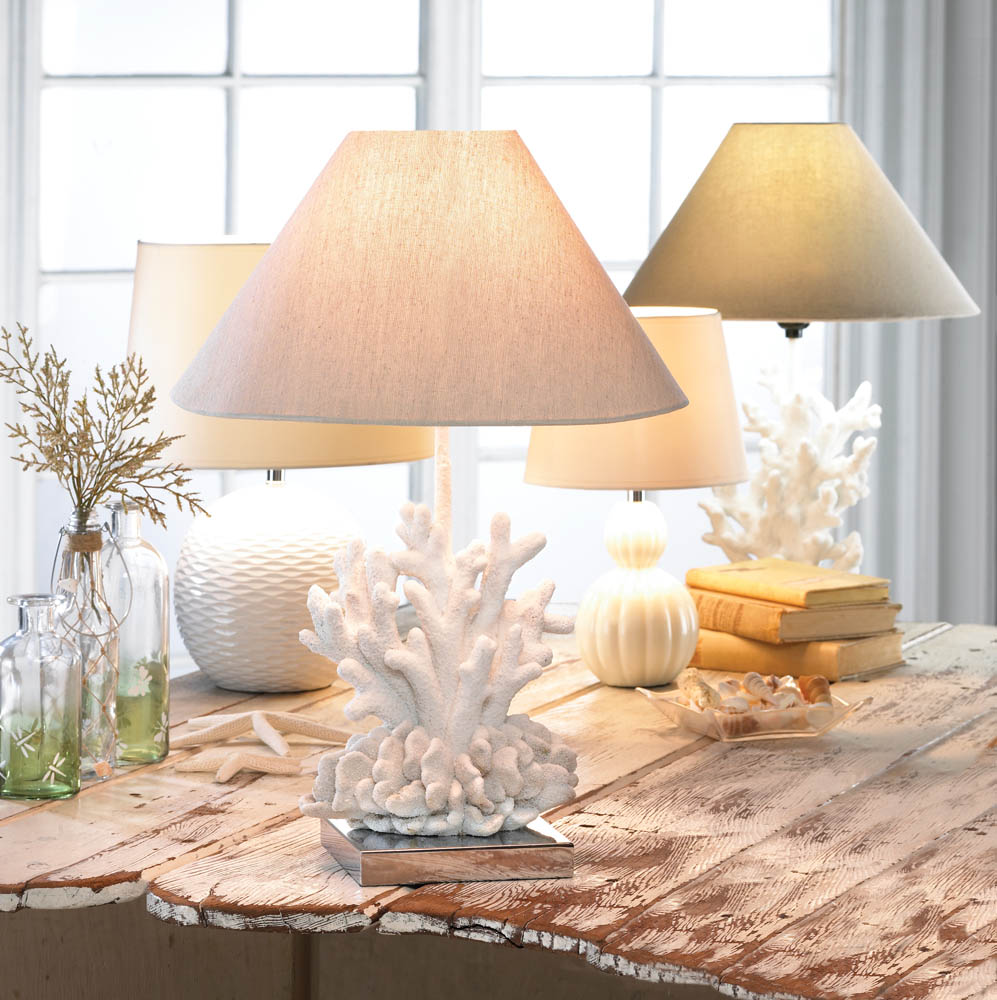 WHITE CORAL LAMP 10017445