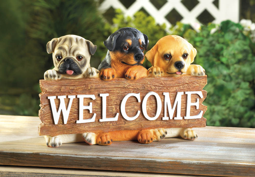 PUPPY WELCOME SIGN 10017870