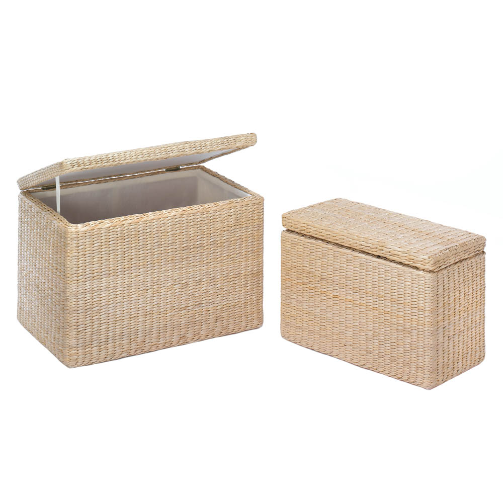 NATURAL RUSH NESTING STORAGE TRUNKS 10017877