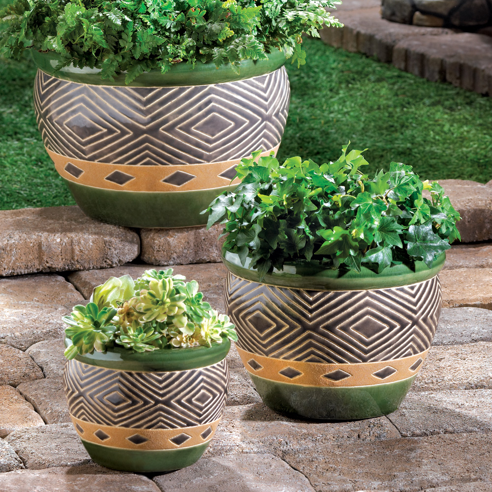 JADE PLANTER TRIO 10013367