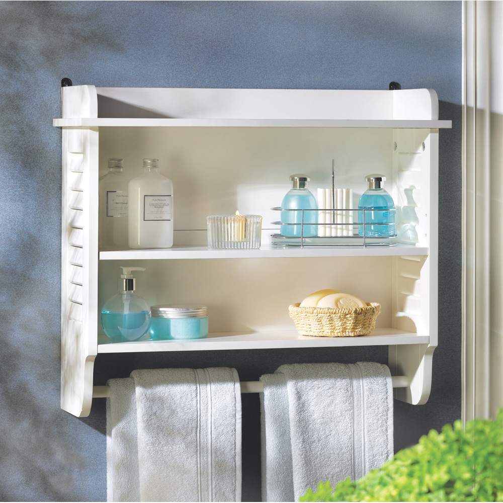 NANTUCKET BATHROOM WALL SHELF 10014706
