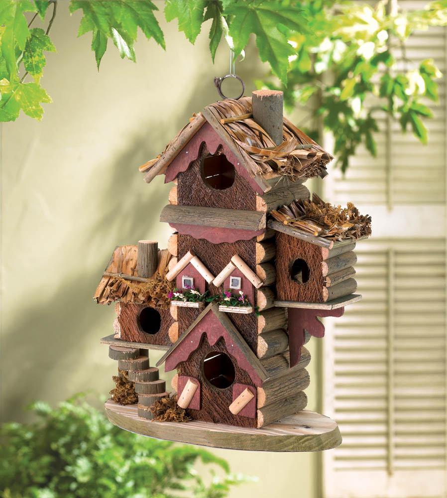 GINGERBREAD-STYLE BIRDHOUSE 10030206