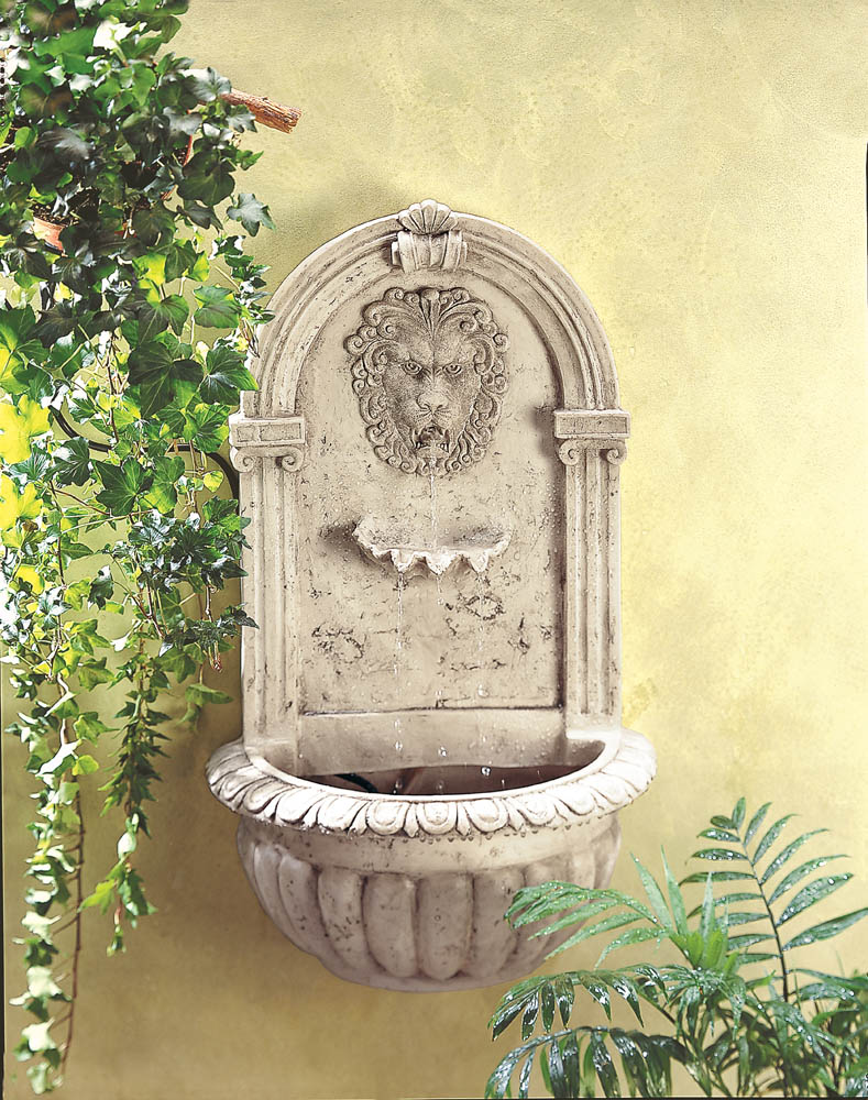 LION HEAD WALL FOUNTAIN 10032428