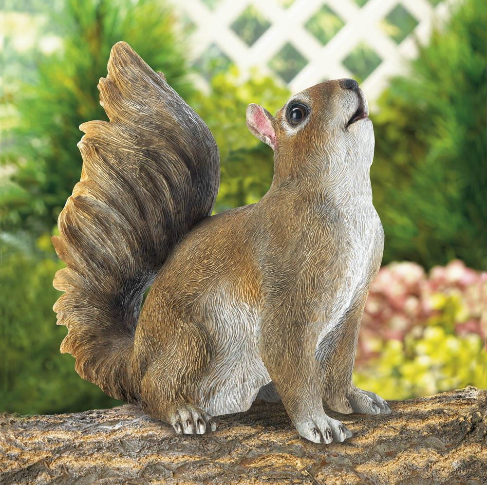 BUSHY TAIL SQUIRREL FIGURINE 10017887