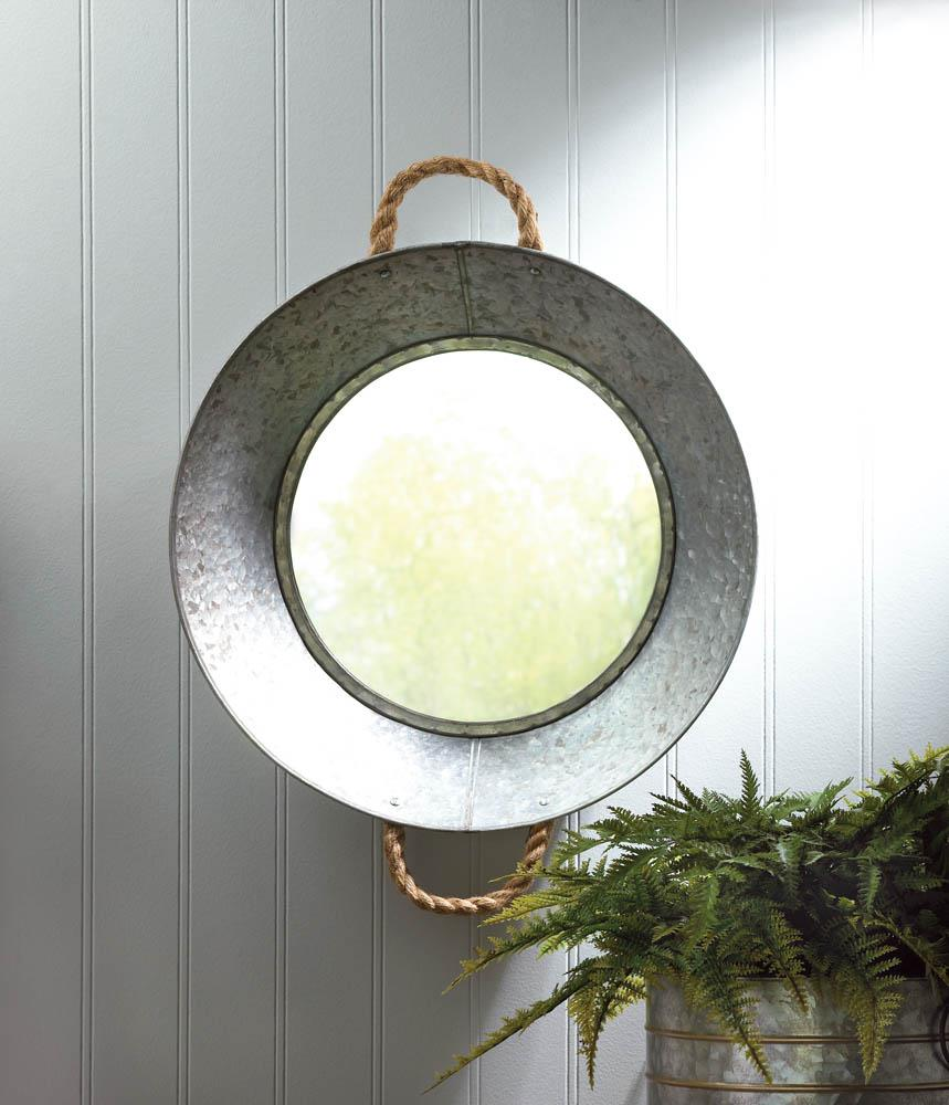 METAL TIN WALL MIRROR 10018150