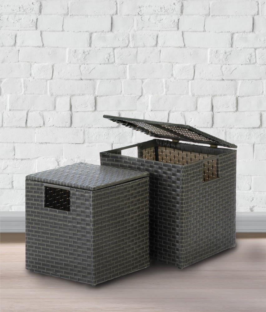 MONTEREY WICKER STORAGE TRUNKS 10018734