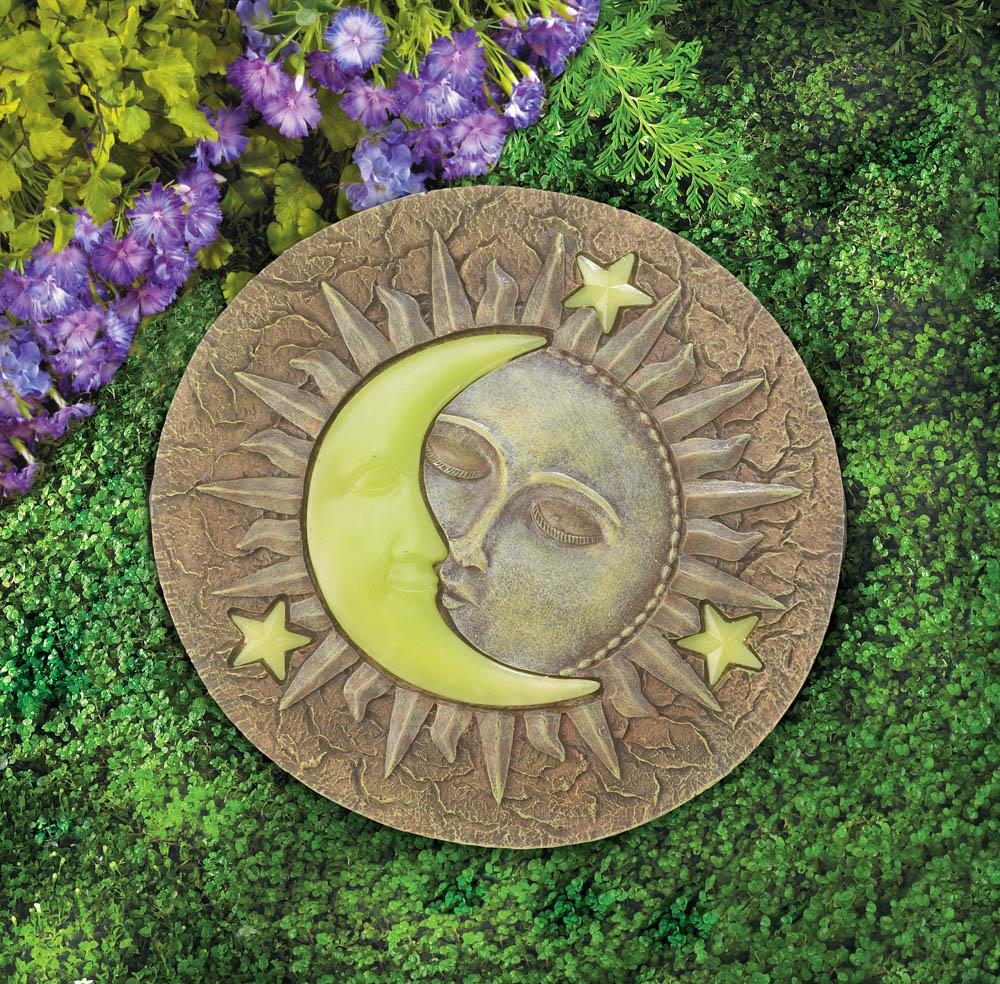 SUN AND MOON GLOWING STEPPING STONE 10017956
