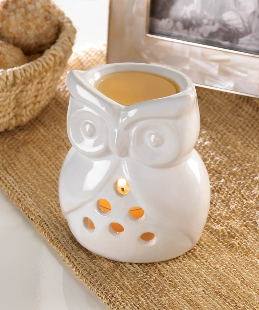 CHARMING OWL OIL WARMER 10015974
