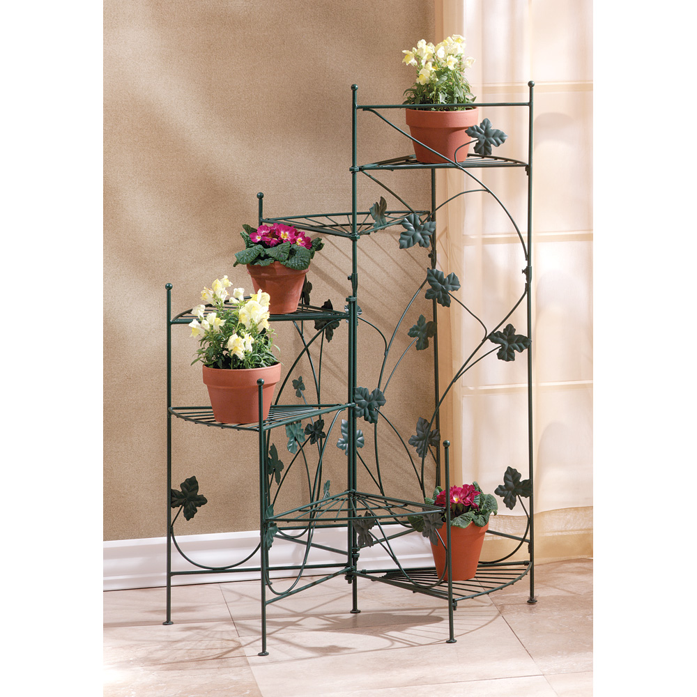 IVY-DESIGN STAIRCASE PLANT STAND 10034764