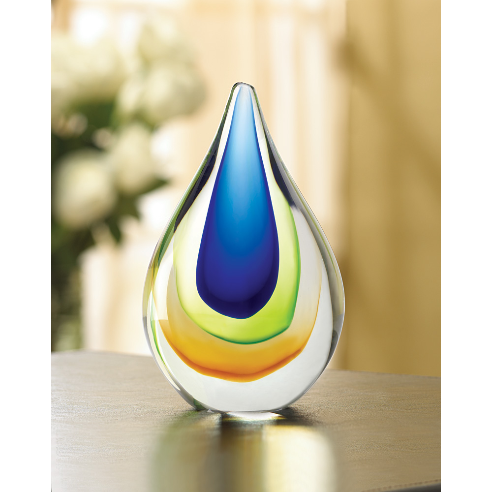 ART GLASS TEARDROP 10038980