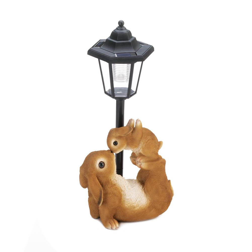 ADORABLE MOM AND BABY SOLAR LAMP 10018806