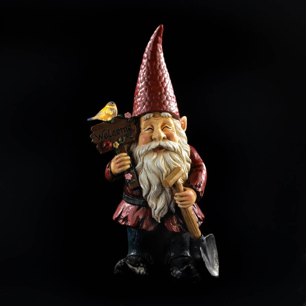 WELCOME GNOME SOLAR GARDEN 10018773